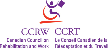 Canadian Council on Rehabilitation and Work Logo