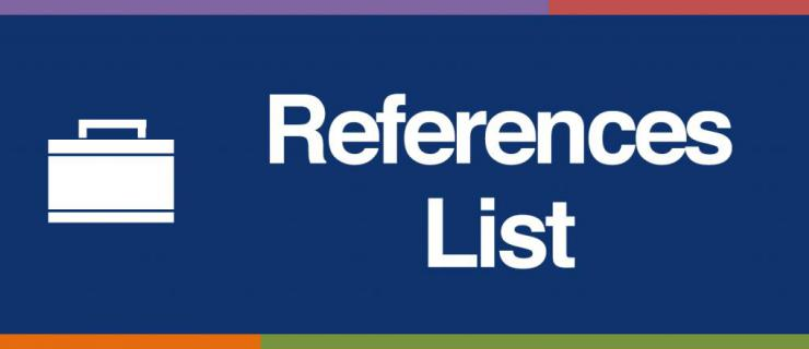 Components Of A Reference List