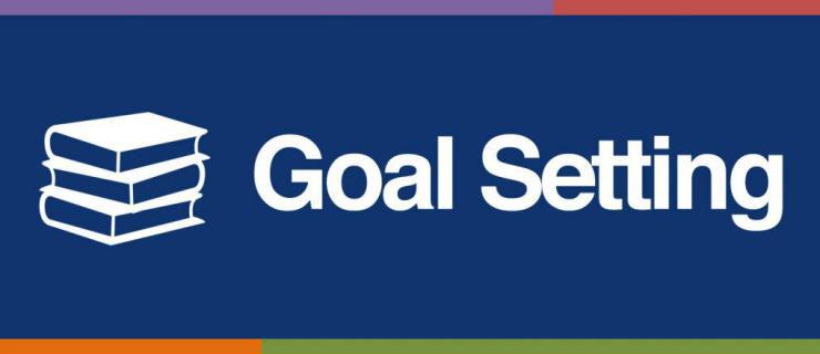 goal setting tip sheet banner