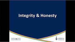 Integrity & Honesty Youtube