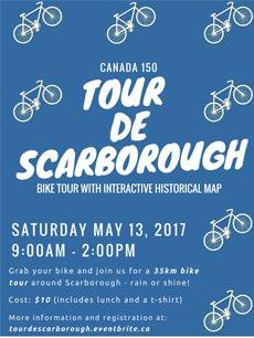 Tour de Scarborough poster