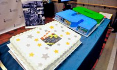 50th wrap party cake