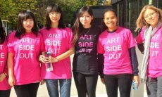 ARTSIDEOUT volunteers
