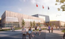 Toronto Pan Am Sports Centre rendering.