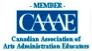 Logo of the Canadian Association of Arts Administration Educators