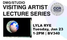 Join us for a free, public talk by Lyla Rye as part of the Visiting Artist Lecture Series.