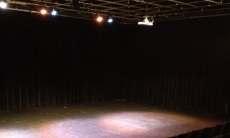 Photo of the Leigha Lee Browne Theatre when empty and not in use
