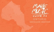 Make Music Ontario logo
