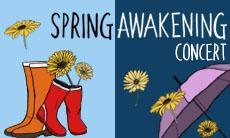 Spring Awakening Concert on Saturday April 7th, 2018 at the UTSC campus on 1265 Military Trail at 2 pm in the ARC Lecture Hall (room AC223) for UTSC's String Orchestra and Concert Band performances and at 7 pm in the Meeting Place for UTSC's Concert Choir.