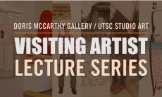 Visiting Arts Lecture Series banner