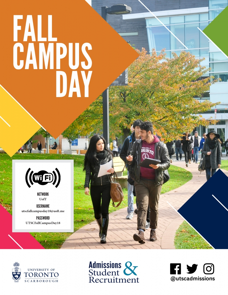 Fall Campus Day Program Cover