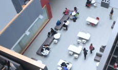 View of the Instructional Centre atrium