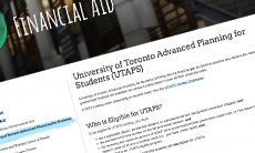 UTAPS website