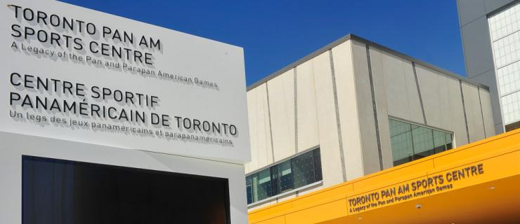toronto pan am sports centre free programs