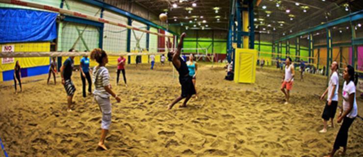 beach volleyall
