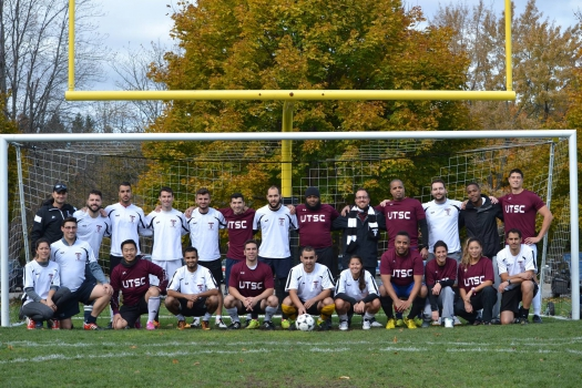 Soccer Day in Scarborough: Alumni Team 2015