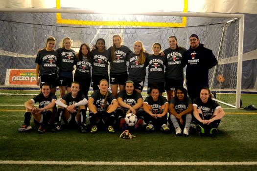 Womens Tri Campus Soccer - Champions