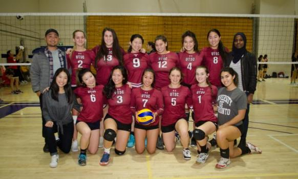 Women's Div. 2 Volleyball