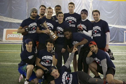 Mens Flag Football - Champions!