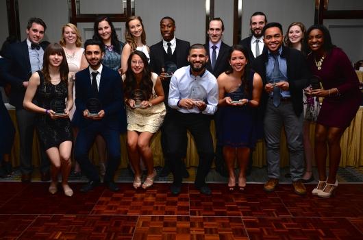 Athletic Leadership Award Winners