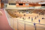 Indoor track and gymnasium