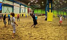 beach volleyall