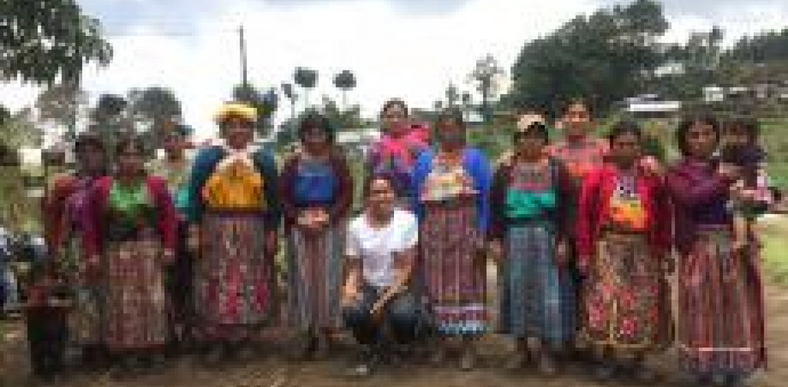 Chantal on placement in Guatemala