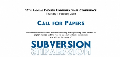 call for papers:theme subversion