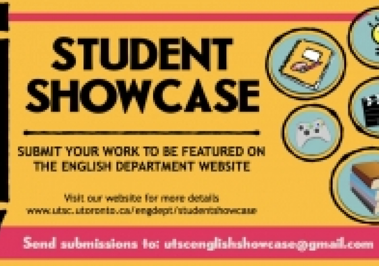 Student Showcase. Click link for more info.