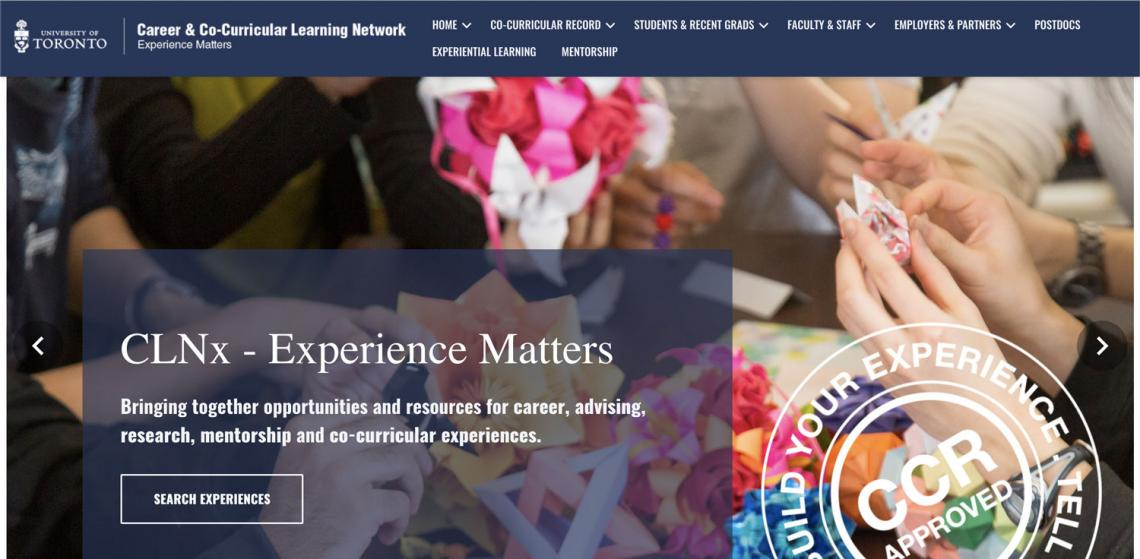 Career Learning Network site