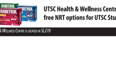 picture of NRT gum and patch - text free NRT at HWC for UTSC students