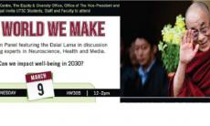 Poster of Live Stream: The World We Make, Picture of Dalai Lama