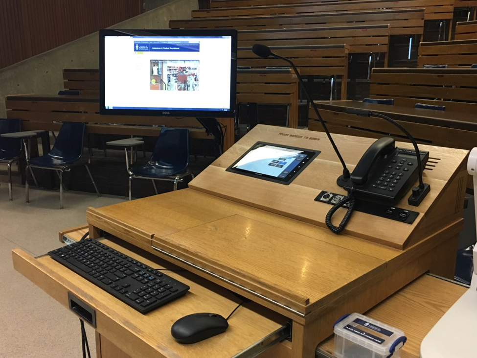 upgraded classrooms
