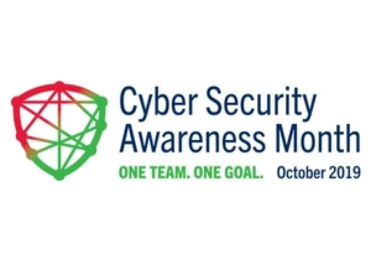 Cyber Security Awareness Month logo