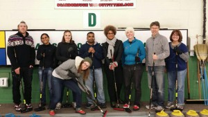 Multi-lab curling party 2014
