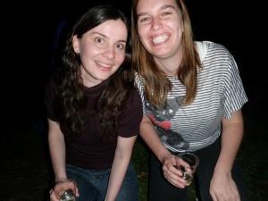 Maria & Luciana, BBQ chez Andrade/Mason, 2012