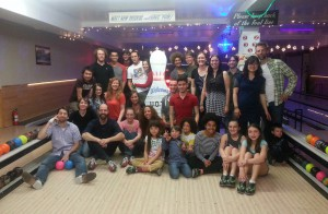 IBN lab Bowling Party, Spring 2015