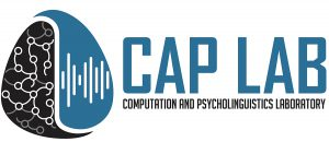 Welcome to the homepage of the Computation and Psycholinguistics Laboratory  (CAP Lab) in the Centre for French and Linguistics (CFL) at the University  of ... 6e3eaf6bf64