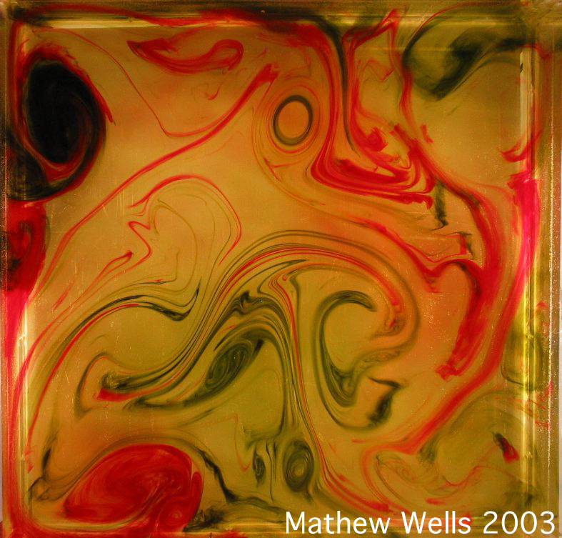 Chemical reactions in forced 2D turbulence