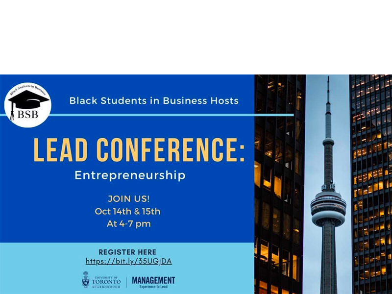 UTSC Black Students in Business LEAD Conference