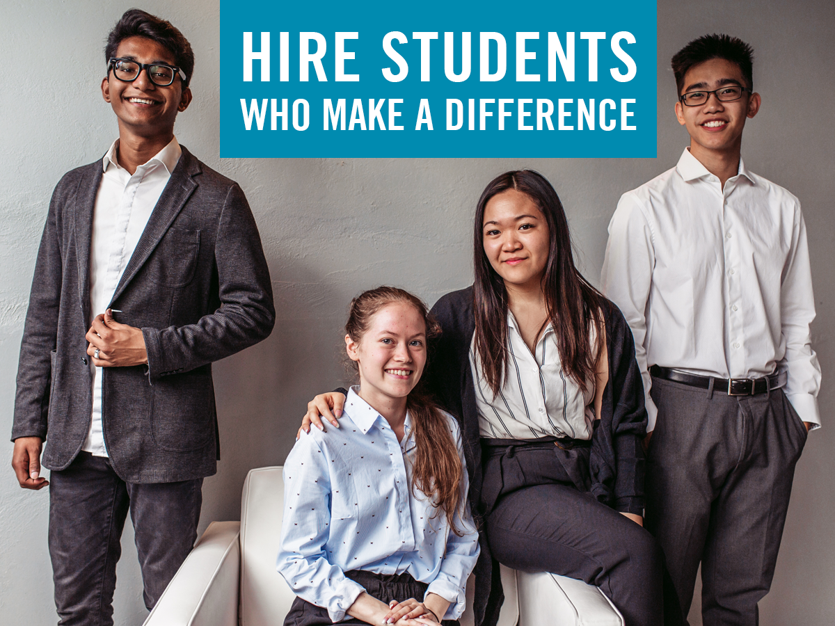 Hire Students Who Make a Difference
