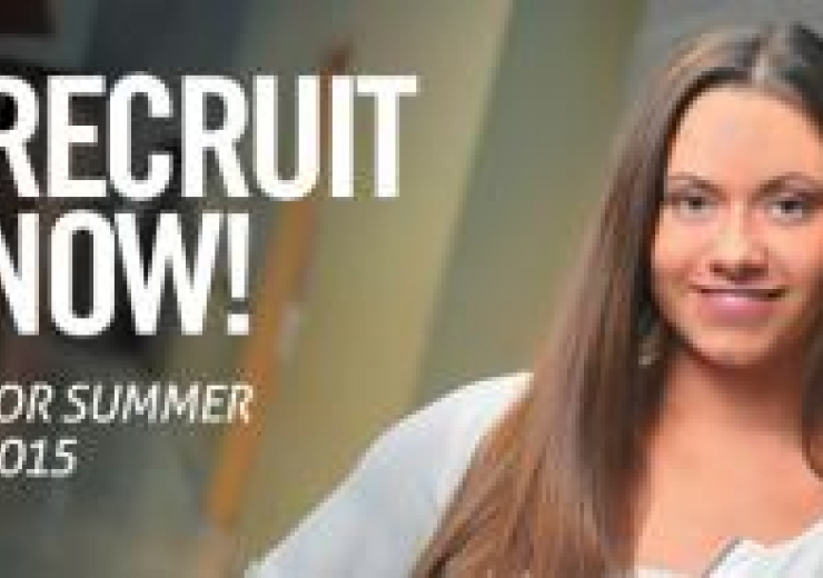 Recruit for Summer 2015 student image