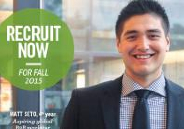 Recruitment photo of Matt Seto Recruit now dor Fall 2015