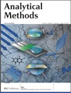 Analytical Mehtods Journal Cover