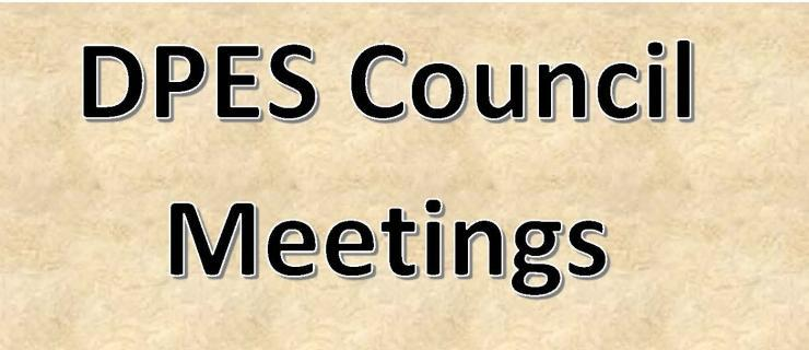 dpes council meetings
