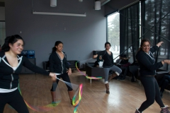 More rhythmic gymnastics - ribbon performance