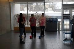 Students participating at Targets Away