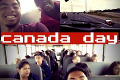 On the bus trip to the Bruce Pinninsila