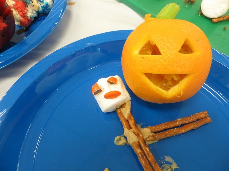 The most friendliest pumpkin orange!