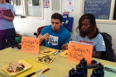Our MoveU Crew having their thoughts on UTSC's creations